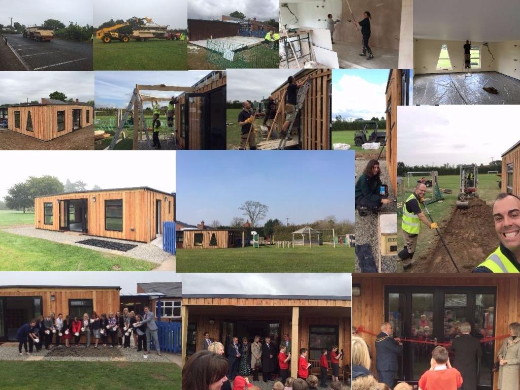 school classroom build
